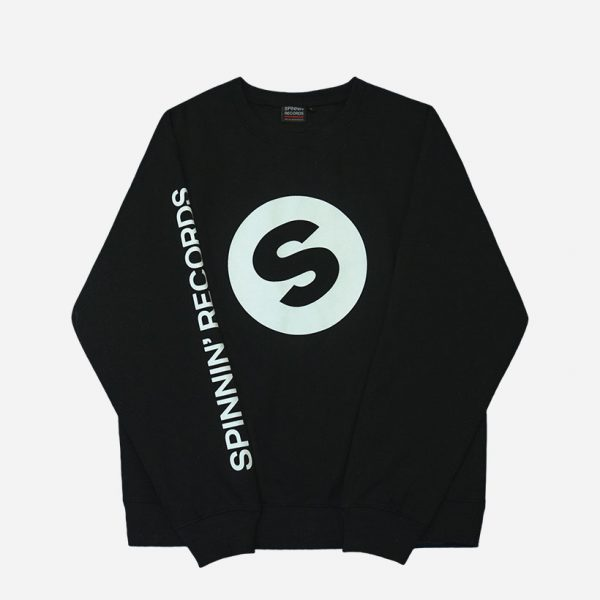 Spinnin-records-black-crewneck-front