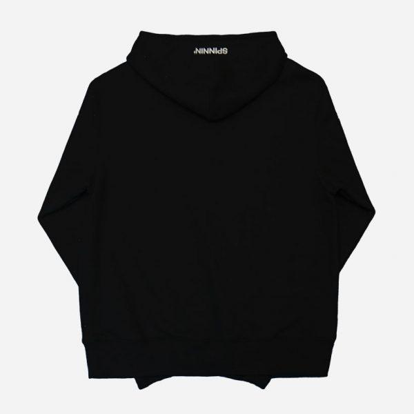 Spinnin-records-black-hoodie-back